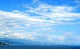 Au bord de la mer Image libre de droits