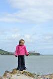 Au bord de la mer Photo stock
