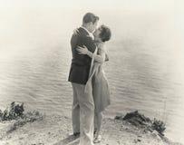 Au bord du romance Photographie stock