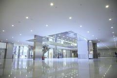 Au centre 2 d'affaires Images libres de droits