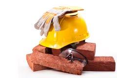 Au chantier de construction Images stock