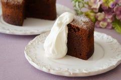 Au Chocolat del pastel Fotos de archivo libres de regalías