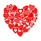 Au coeur des coeurs Photos libres de droits