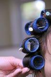 Au coiffeur Photo libre de droits