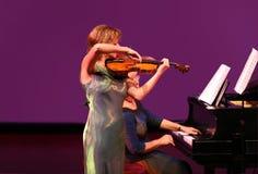 Au concert Images stock
