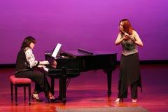 Au concert Photo libre de droits