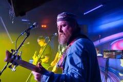 Au concert de rock Photo libre de droits