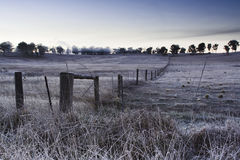 AU country Frost Stock Photos