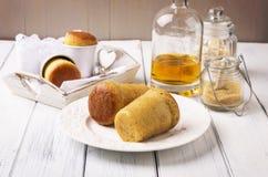 Au de baba de dessert Rhum Images stock