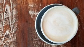 Au de café Lait da manhã Imagens de Stock Royalty Free
