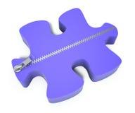 Au delà du puzzle Photos libres de droits