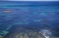 au delà du récif coralien Photo stock