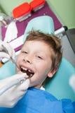 Au dentiste Image libre de droits