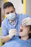 Au dentiste photo libre de droits