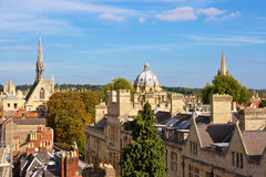 Au-dessus d'Oxford. l'Angleterre Photos stock