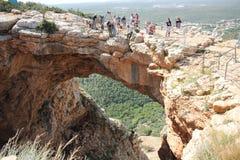 Au-dessus d'une falaise photo libre de droits