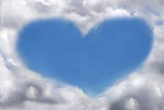au-dessus de l'amour Images libres de droits