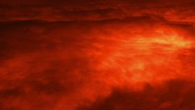 Au-dessus de l'atmosphère de Mars de planète banque de vidéos