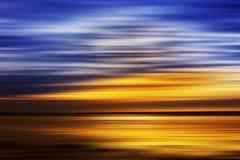 au-dessus de l'eau de ciel Photographie stock libre de droits