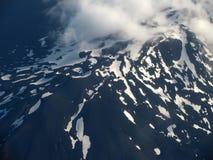 Au-dessus de l'Islande Photos libres de droits