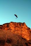 au-dessus de la falaise Images libres de droits