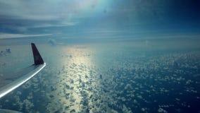 au-dessus de la mer photos libres de droits