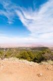 Au-dessus de la montagne photographie stock libre de droits