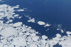 Au-dessus de la Sibérie Photo libre de droits