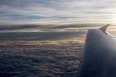 Au-dessus de la terre photographie stock libre de droits