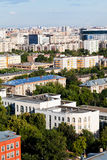 Au-dessus de la vue du salon urbain Photos libres de droits