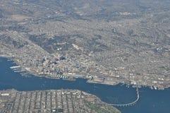 Au-dessus de San Diego Photographie stock