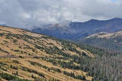 Au-dessus de Treeline chez Rocky Mountain National Park Photos stock