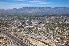 Au-dessus de Tucson Images libres de droits
