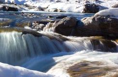 Au-dessus des automnes de coude, Alberta Canada Image libre de droits