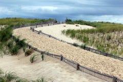Au-dessus des dunes photos libres de droits