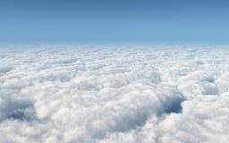 Au-dessus des nuages illustration de vecteur