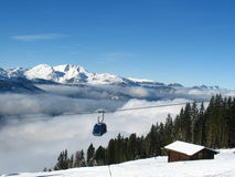 Au-dessus des nuages Photo libre de droits