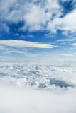 au-dessus des nuages Photos stock