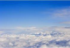 Au-dessus des nuages Photos libres de droits