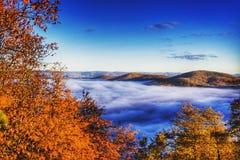 Au-dessus des nuages Photographie stock libre de droits