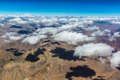 Au-dessus des nuages dans Ladakh Image libre de droits