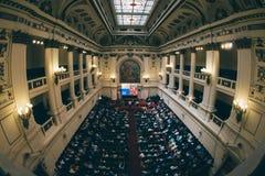 Au-dessus du hall de l'ancien congrès d'honneur Photos libres de droits