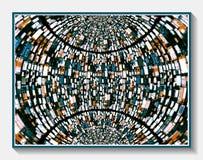 Au-dessus du monde industrialisé Photo stock
