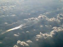 Au-dessus du nuage - Suède Photos libres de droits