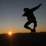 Au-dessus du soleil Photo stock