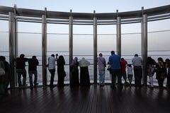 Au dessus, Dubaï Photos libres de droits