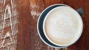 Au di caffè di mattina Lait Immagini Stock Libere da Diritti