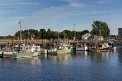 Au dock photo stock