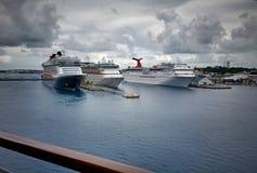 Au dock Photo libre de droits