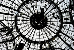 au grand palais Paryża Zdjęcie Stock